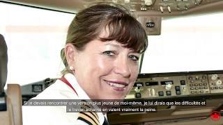 Les conseils de la première femme pilote d'Air Canada, la capitaine Judy Cameron