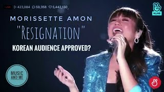"Morissette Amon | Asia's Song Festival 2018 | ""Resignation"" (Korean Song)"
