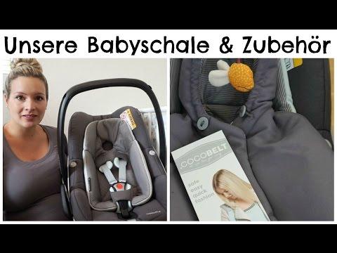Erstausstattung: Babyschale inkl. Zubehör I MamaBirdie