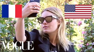 Camille Rowe's Take on French vs. American Girl Style