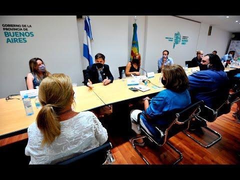 El gobierno de Kicillof presentó a docentes propuesta de aumento salarial