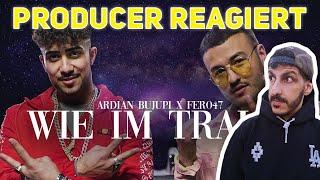 Producer REAGIERT Auf Ardian Bujupi X Fero47   WIE IM TRAUM (prod. By Maxe)