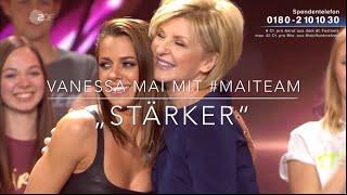 """Vanessa Mai Mit #Maiteam   """"Stärker"""" (Willkommen Bei Carmen Nebel) 29.9.2018"""