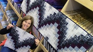 Bargello Table Runner | Quick And Easy Method In A Step By Step Tutorial