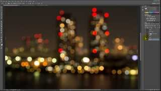 preview picture of video 'How to create  awesome night city lights in photoshop'