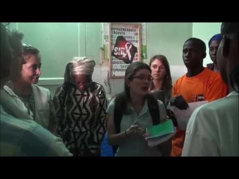 Au coin des jeunes de Popenguine: les partenaires s'entretiennent avec les DJO