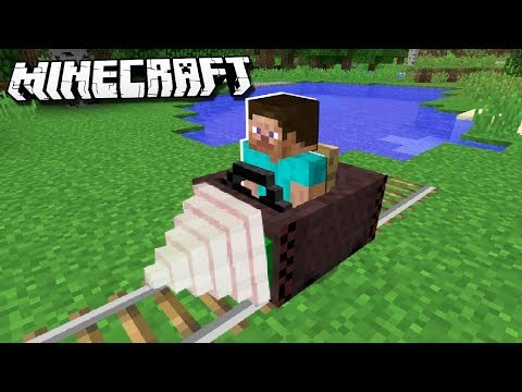 How to Make an MINECART DRILL in Minecraft!