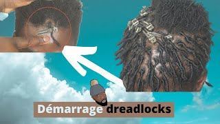 Comment Faire Un Démarrage De  Locks - REAL HAIR - 2 Techniques