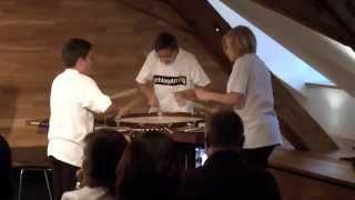 preview picture of video 'Schlagartig beim Konzert auf Falkenhorst'