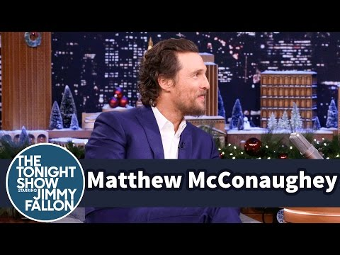 Matthew McConaughey Heads to Brazil for the Holidays