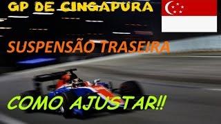 GP DE CINGAPURA - MARINA BAY - TREINO LIVRE 2 - F1 2016 PC GAME #93 - G27 - 720p60fps