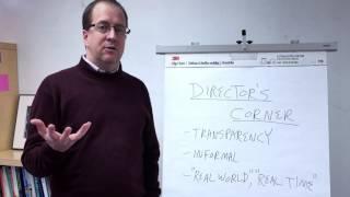 Thumbnail for Program Update: Director's Corner