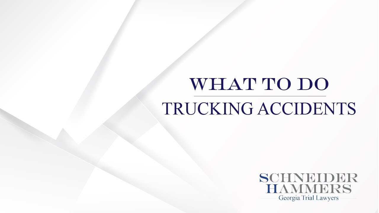 Atlanta Truck Accident Attorney | Truck Accident Lawyer Atlanta