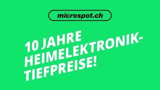 Stimme für die neue Microspot-Kampagne