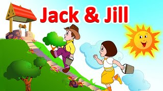 """Jack and Jill"" - World Famous English nursery rhyme in animation form by Jingle Toons"