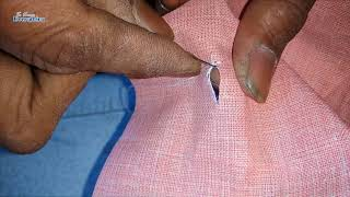 How To Make A Buttonhole Hand Stitch | Button Hole Sewing | Shirt Button Hole | To Know Everything