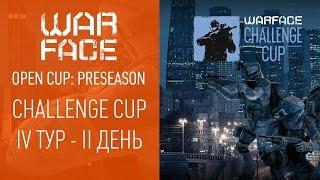 Open Cup Preseason: Challenge Cup IV-II