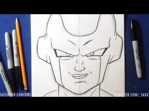 Comment dessiner dragon ball z freezer - Comment dessiner