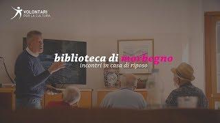 BIBLIOTECA DI MORBEGNO: INCONTRI IN CASA DI RIPOSO