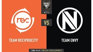 Team Reciprocity vs Team Envy | CWL Champs 2019 | Day 1