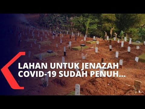 lahan jenazah covid- penuh tpu pondok ranggon hanya layani pemakaman sistem tumpang