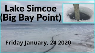 Lake Simcoe Ice Report January, 24 2020