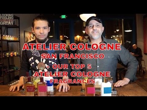 Atelier Cologne Store San Francisco | Our Top 5 Atelier Cologne Scents 🎁🎁🎁 (CLOSED)
