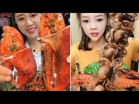 Ăn Bạch Tuộc ♧ Tik tok Ăn Cua Hoàng Hậu | Ăn Cua Alaka | ăn bạch tuộc