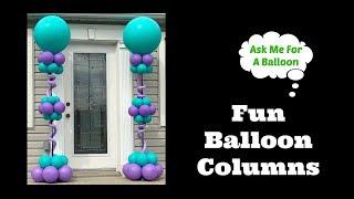 Fun Balloon Columns