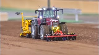 Fantastic Modified RC Tractors At Work! Farming In 1/32 Scale!