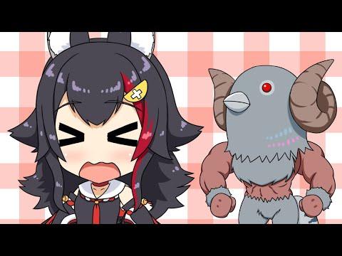 【切り抜き漫画】大神ミオとハトタウロス