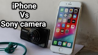 iPhone 6S vs Sony WX220 Detailed Camera Comparison || Which is Better?