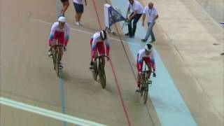 UEC 2017 Team sprint world record
