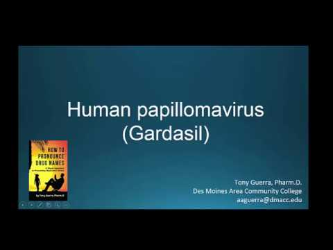 Human papillomavirus symptoms test
