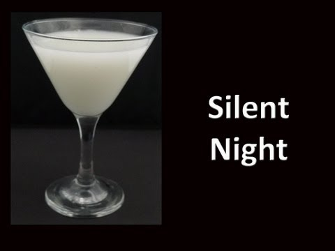 Silent Night Christmas Cocktail Drink Recipe
