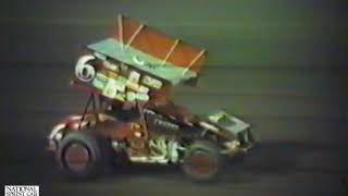Knoxville Raceway World of Outlaws, April 25, 1987