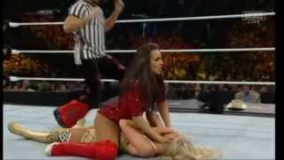 WWE layla sexy pin