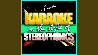 Step on My Old Size Nines (In the Style of Stereophonics) (Instrumental Version)