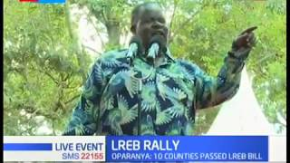 Governor Cyprian Awiti hints Raila will be on the ballot in 2022 presidential race