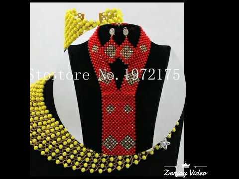 Nigeria wedding beads designs