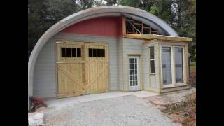 Arched Metal Building
