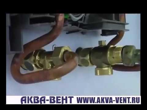 Установка проточного водонагревателя DHE STIEBEL ELTRON