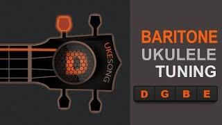 Baritone ukulele tuning  (D G B E) - Top Online Ukulele Tuner