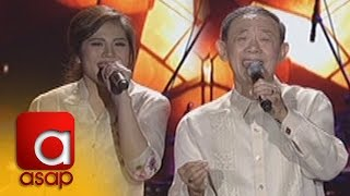 "ASAP: Jose Mari Chan and Janella sing ""Christmas in our Hearts"""