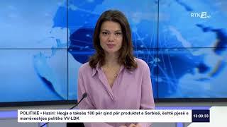 RTK3 Lajmet e orës 13:00 23.02.2020