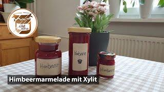 Himbeermarmelade ohne Zucker sondern mit Xylit