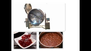 paste mixer,jam cooker,jam kettle,marmalade machine,khoya machine