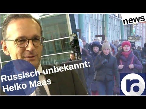 Russland & GroKo: Heiko Maas – nie gehört [Video]