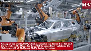 Automotive production rebounds in Mexico