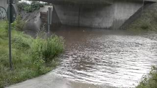 preview picture of video 'Unwetter 6.7.12 in Coswig'